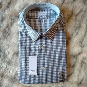 "NWT Arrow ""Rock"" men's dress shirt"